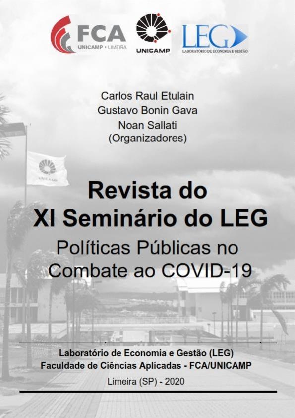 Visualizar n. 11 (2020): Políticas Públicas no Combate ao COVID-19