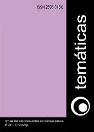 Capa da revista Temáticas