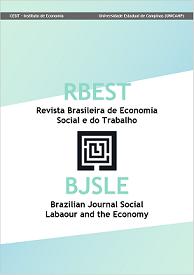 RBEST Revista Brasileira de Economia Social e do Trabalho