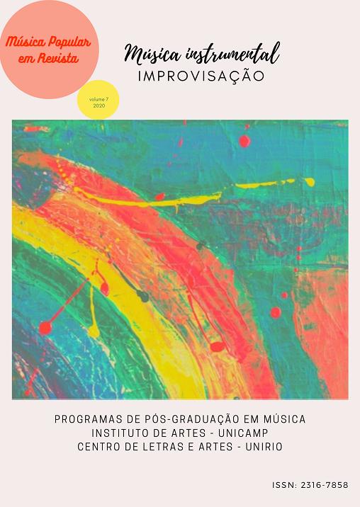 Visualizar v. 7 (2020): Música Instrumental e Improvisação