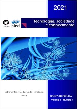 Visualizar v. 8 n. 1 (2021): Letramentos e mediação da tecnologia digital