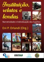 Capa para Instituição, relatos e lendas: narratividade e individuação dos sujeitos