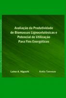 Capa para Avaliação da produtividade de biomassas lignocelulósicas e potencial de utilização para fins energéticos