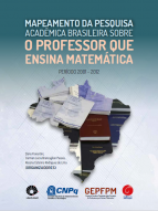 Capa para Mapeamento da pesquisa acadêmica brasileira sobre o professor que ensina matemática: período 2001 - 2012
