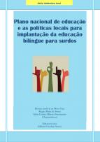 Capa para Plano nacional de educação e as políticas locais para implantação da educação bilíngue para surdos